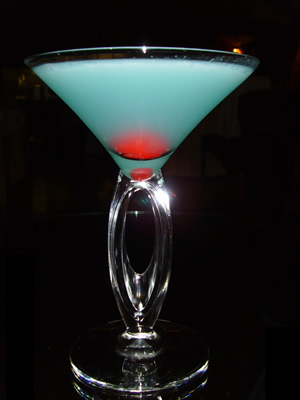 Blue Devil Cocktail