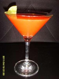 Ginberry Martini