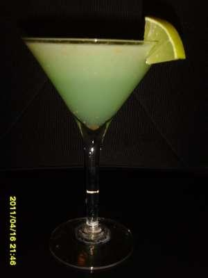 Lychee and Mint Martini