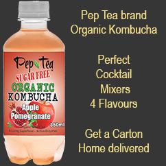 Pep Tea Organic Kombucha